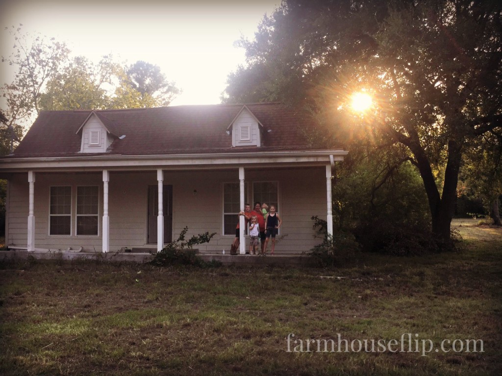 farmhouseflip with kids