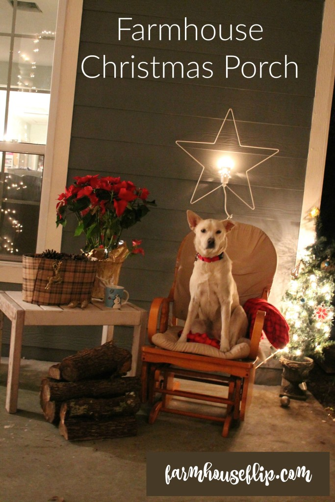 farmhouse christmas porch decor1