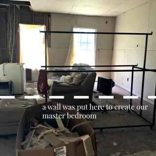 farmhouse flip living room before 2